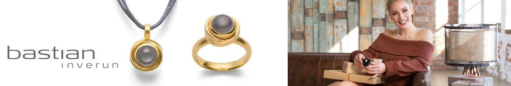 Ohrschmuck, Ringe und Halsschmuck von Bastian Inverun in Gold und Silber