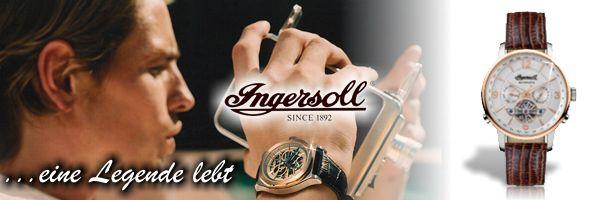 INGERSOLL Uhren Kollektion 2020 jetzt versandkostenfrei bestellen und auf Rechnung bezahlen