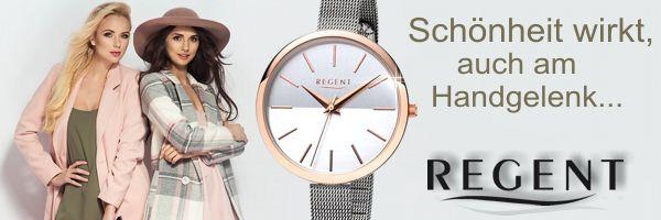 REGENT, das sind Armbanduhren und Taschenuhren mit langlebiger Qualität zu einem überzeugenden Preis. Jetzt hier in unserem Onlineshop gleich auf Rechnung bestellen.