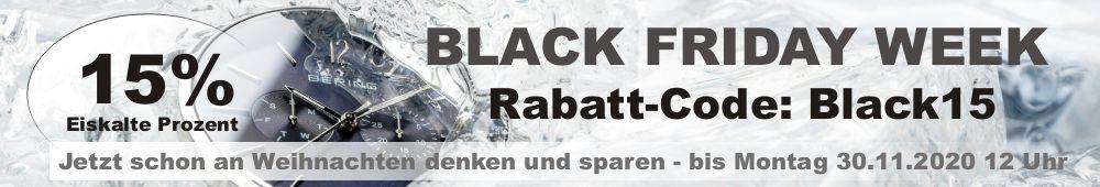 Eiskalte 15 Prozent Rabatt in der Black Friday Week bei schmuckshopping.de