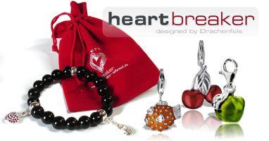 Charms Anhänger in über 150 verschiedenen Motiven in Silber der Schmuckmarke Heartbreaker