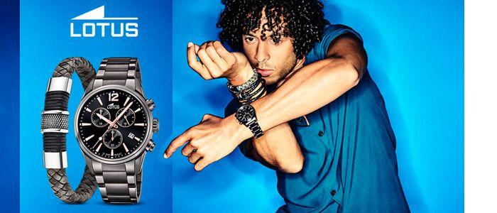 Herren Uhr von Lotus, passend dazu ein cooles Armband