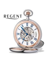 Taschenuhren der Marke Regent im in Gold- und Silberfarben