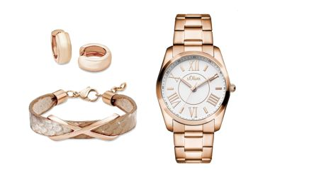 Rosegold Outfit von S.Oliver 2016
