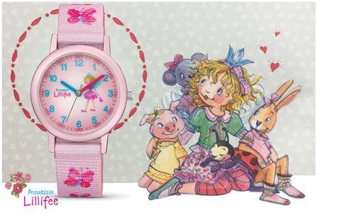 Kinderuhren von Prinzessin Lillifee neu bei schmuckshopping.de