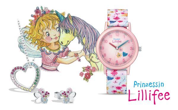 Prinzessin Lillifee Kinderuhren und Kinderschmuck
