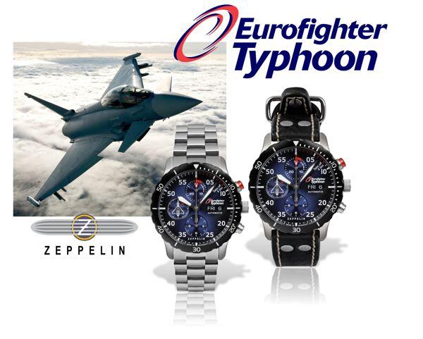 Limited Edition automatik Chronograph 7213 von Zeppelin
