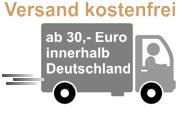 Kostenfreie Lieferung ab 30,- Euro Einkaufswert innerhalb Deitschland