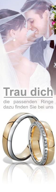 Trauringe verschiedener Hersteller bei schmuckshopping.de