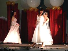 die Braut Modenschau
