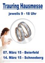 Trauring Hausmessen bei Juwelier Riedel im März 2015