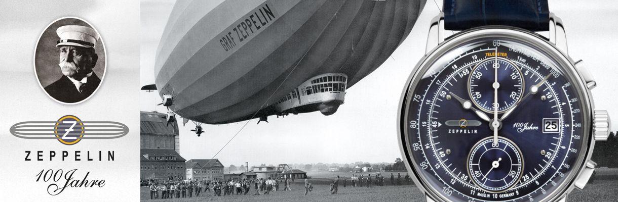 Zeppelin Uhren - Mechanische Uhren mit automatischem Aufzug made in gemany neu bei schmuckshopping.de